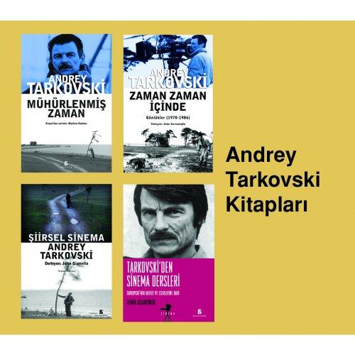 Andrey Tarkovski Kitapları