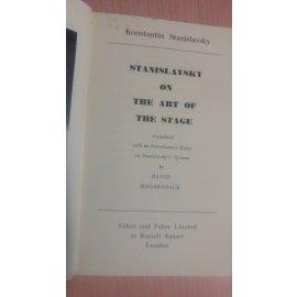 Stanislavsky on the Art of Stage